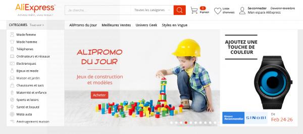 aliexpress France promo