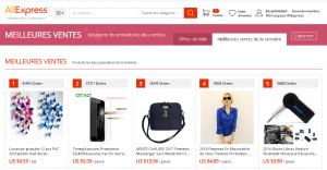 aLIEXPRESS fRANCE meilleur vente